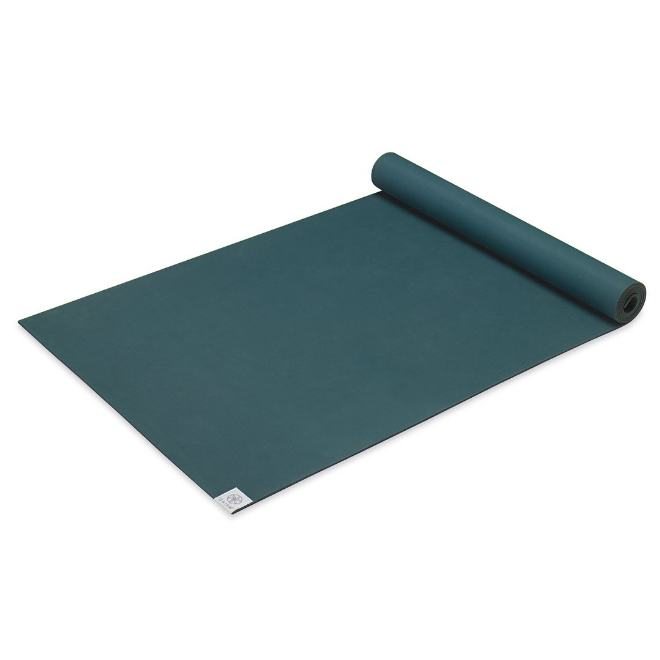 Gaiam Podložka na jogu Power GRIP Studio 173x61x0,4cm, zelená