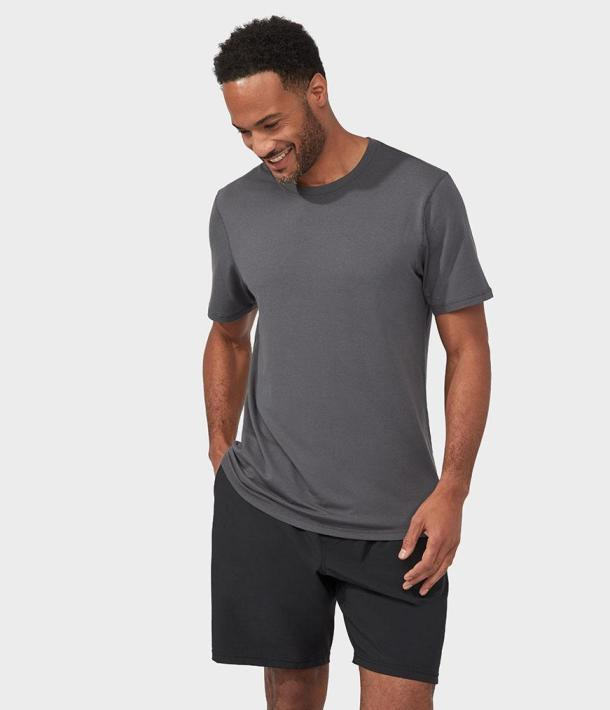 Manduka Men Refined TEE sivé
