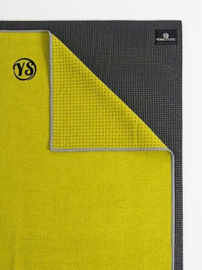 Yoga Studio Premium Uterák na podložku Grip Dot Lime Green