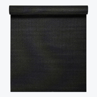 Gaiam Podložka na jogu Perforated Breathable BLACK 173x61x0,4cm