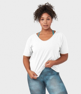 Manduka Enlight relaxed top biely